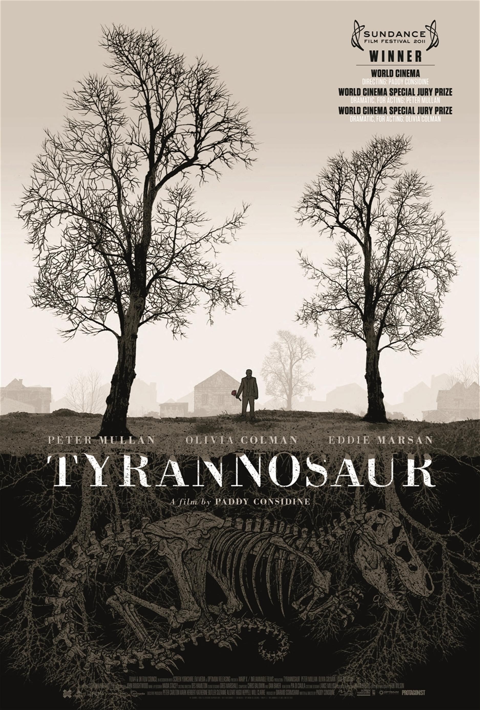 Risultati immagini per tyrannosaur poster